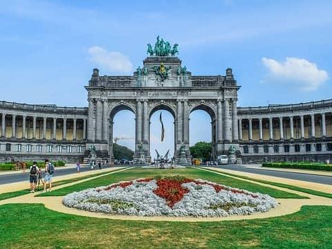 Parc du Cinquantenaire, Brussels