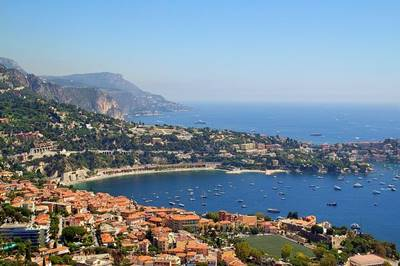Nice, France panoramic view