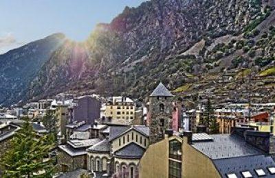 Andorra la Vella Landscape